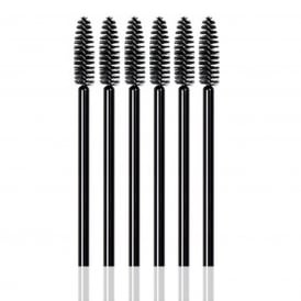 25pcs LashArt Black Disposable Mascara Wands Brushes Applicators Spooler