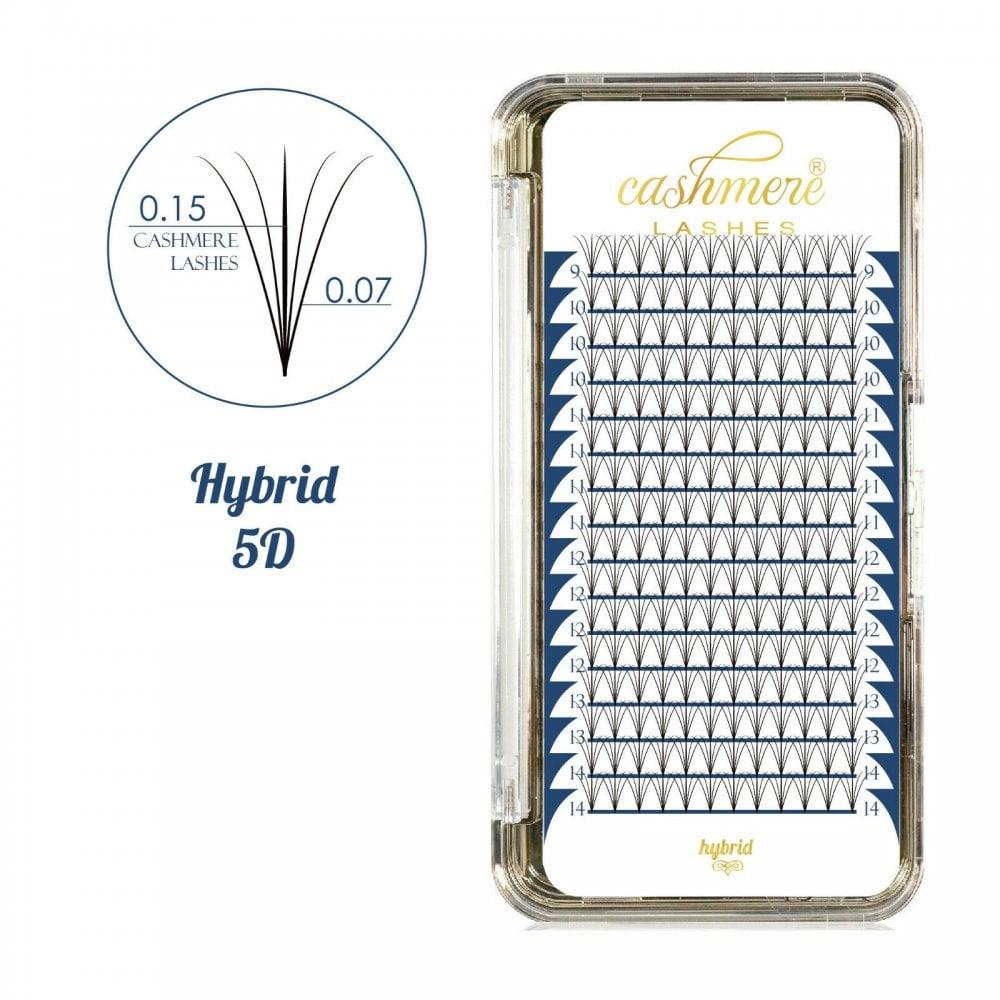 1d102040b6e Cashmere Lashes Hybrid Fans 5D Luxury Individual Eyelash Extensions Classic  Volume 1:4