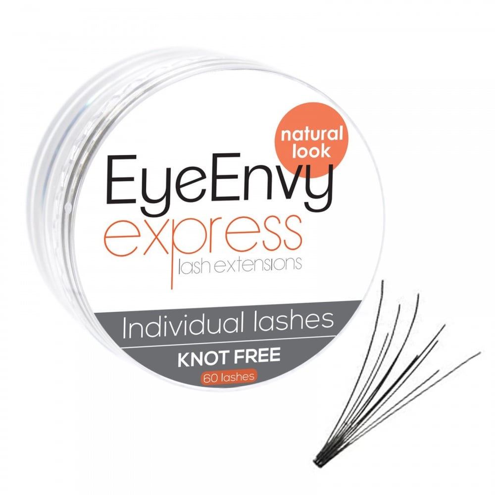 4cac094c64d Knot Free Natural Look Jar - EyeEnvy Flare Lashes Loose Individual Eyelashes  Express Lash Extensions