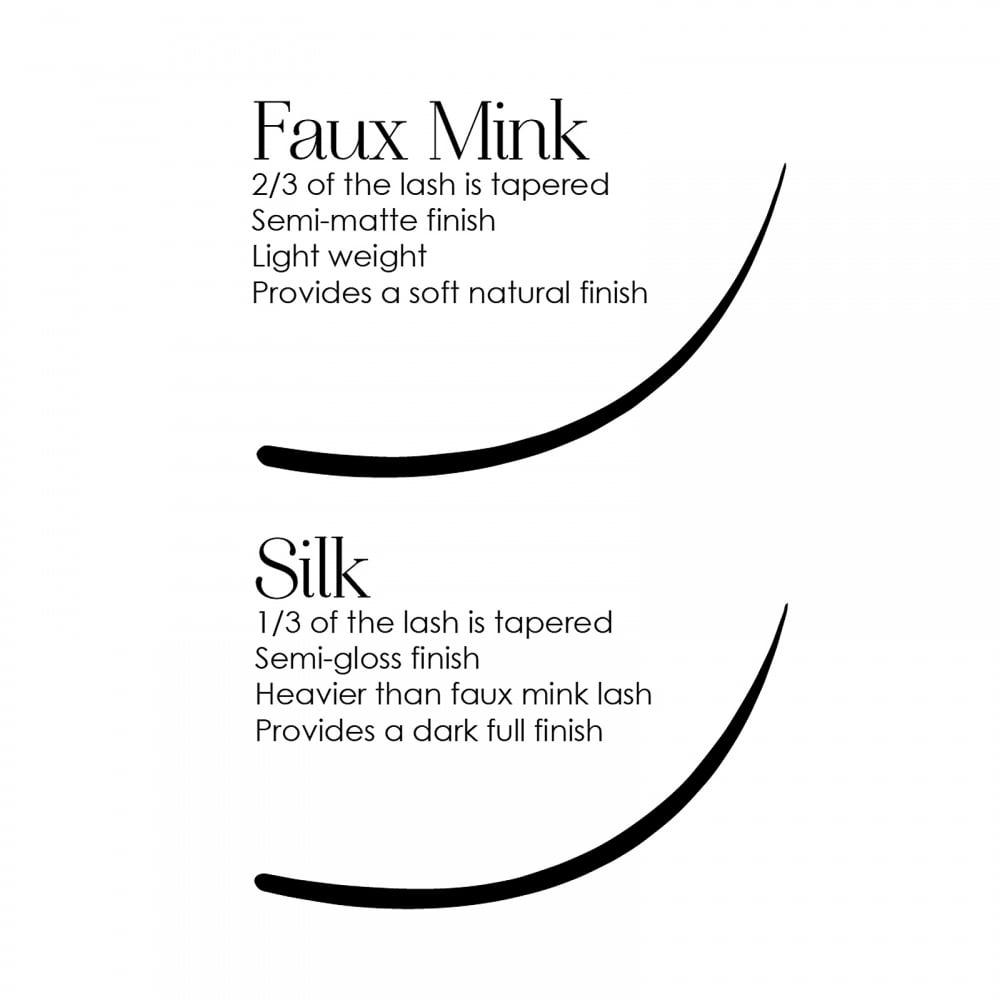 adca24b88bd MUSE 0.07 Silk Volume Lashes Individual Eyelash Extensions 2D - 7D