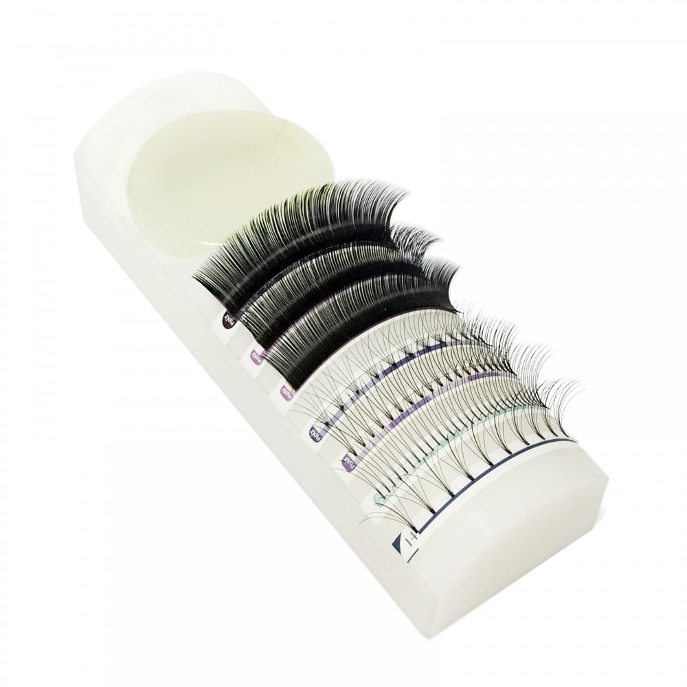 d3fb4473b7e MUSE Butterfly Pre-Fanned Volume Lashes 0.07 Individual Eyelash Extensions  Premade 4D Fans