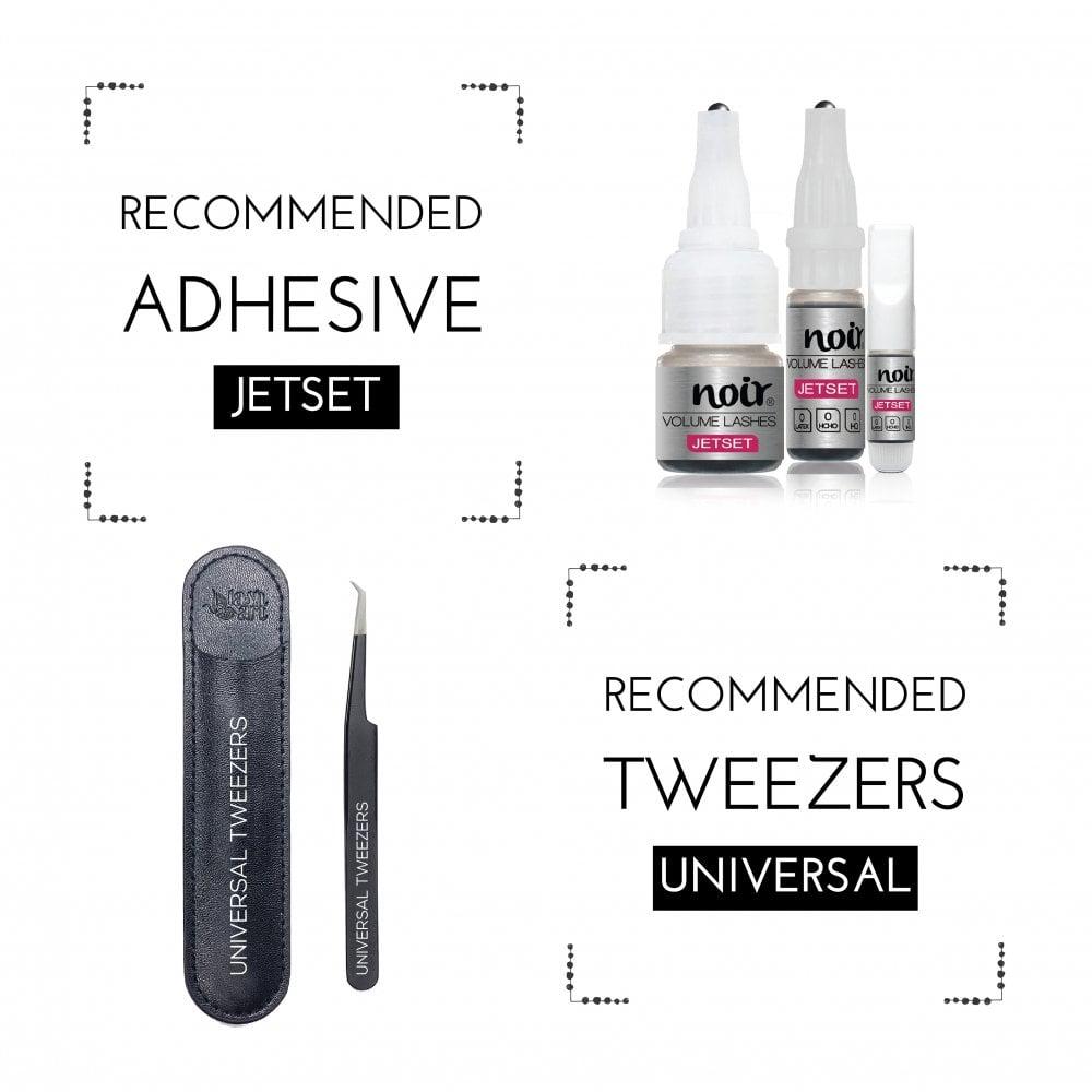 0 07 6D Premade Fans Professional Eyelash Extensions