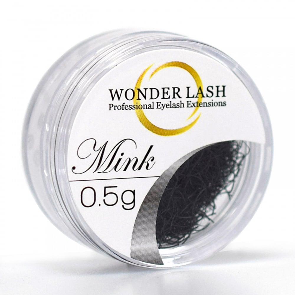Premium Mink Lashes Loose Jar Professional Semi Permanent Individual  Eyelash Extensions