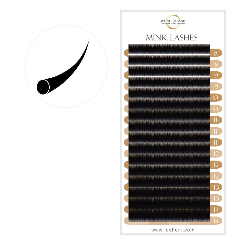 Wonderlash Premium Silk Lashes Professional Semi Permanent